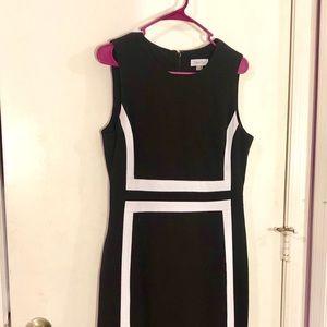 Calvin Klein - Black and White Dress